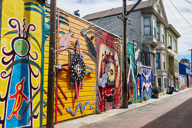 Mission District San Francisco Murals